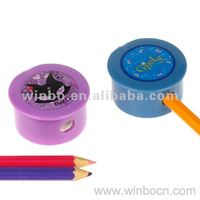Plastic Pencil Sharpener With Single Hole