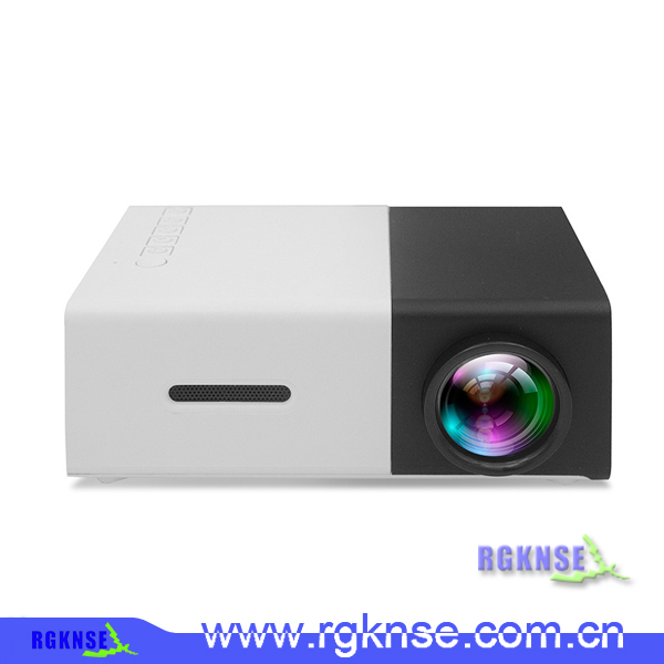 Latest projector black + white yg300 lcd projector mini projector for home theater