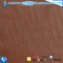 Factory offer brown waterproof PVC artificial leather for car seats cover