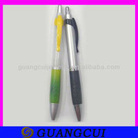 fashion rubber grip plastic 10 in 1 ball pen with custom logo