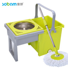 folding bucket 360 spin mop bucket without pedal