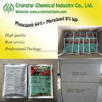 Metalaxyl + Mancozeb 72% WP Fungicide Compound Chemical Agricultural Pesticide