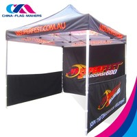 custom trade event promotion metal frame outdoor canopy