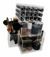 High end Exquisite acrylic makeup storage top 10 manufacturer