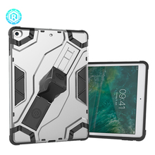 Shockproof rugged tablet case cover for apple ipad 2017 smart cover case with hand strap kickstand