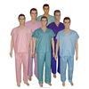 Fashionable Medical Disposable Scrub Scrub Suit