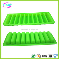 silicone finger biscuit mold chocolate mould