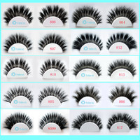 100% Horse lashes private label horse hair lashes