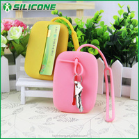 Suppliers wholesale promotional gifts FDA silicone waterproof key case