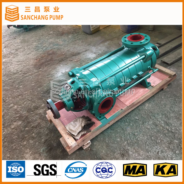 Horizontal multistage centrifugal mill discharge slurry pump