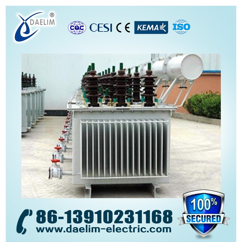 35kv/0.4kv Three-phase Fully Enclosed OLTC Low Noise Transformer