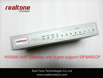 4FXS+4FXO port VoIP Gateway compatible with all sip ippbx system