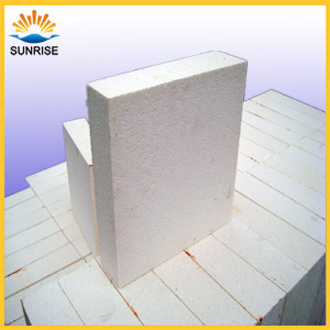 Lightweight Thermal Insulation Alumina Bubble Refractory Brick