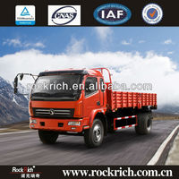 10T capacity with 140hp Cummins Sitom cargo box truck used in South America