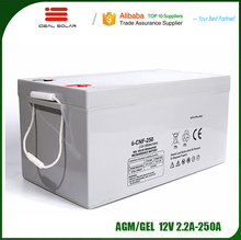 Ideal New Energy sealed lead acid agm gel solar rechargeable battery 6v 12v 24v 36v 6ah 16ah 80ah 100ah 120ah 150ah 200ah