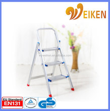 Household aluminium 3 step ladder