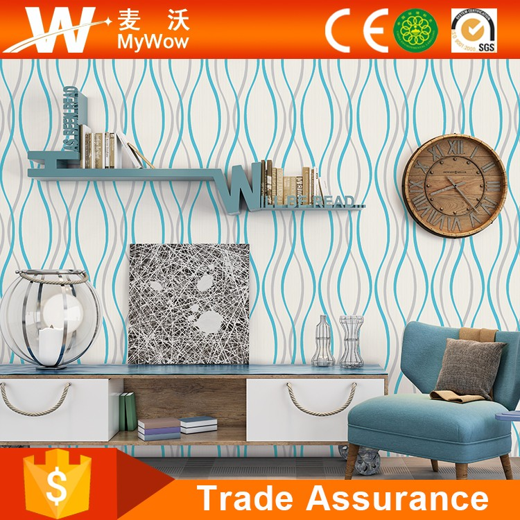 [A26-1WY110125] Home Decoration PVC Project 3D Baby Room Study Room Decorative Wallpaper