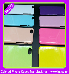 JESOY Colorful Plain Hard Plastic Mobile Cases For iPhone 4 4s 5 5s Phone Cases