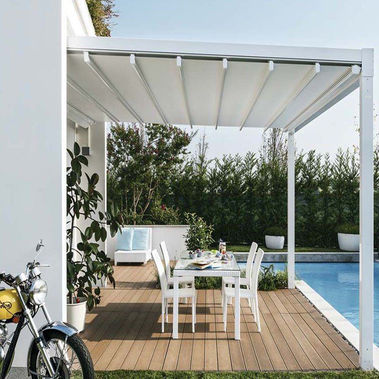 Best selling products retractable roof attachable gazebo wall outdoor supplier