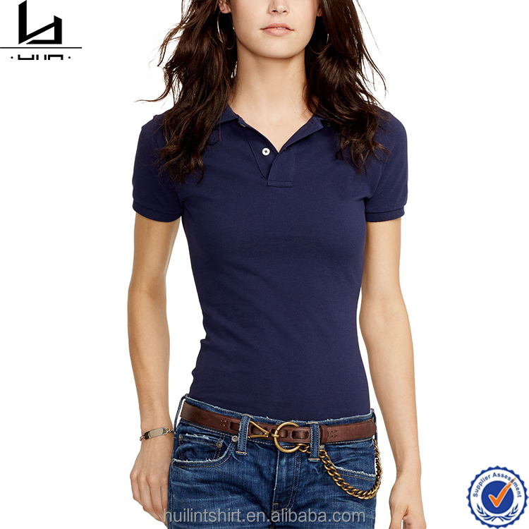 China supplier OEM service high quality dri fit custom wholesale uniform women polo shirt