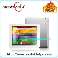Great Asia 9.7 inch super slim MTK8389 Quad Core tablet pc with full function