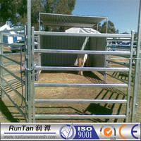 NEW Galvanized or Green colour coated horse fence panels portable metal corral