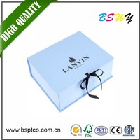 Custom new design foldable gift box cardboard box