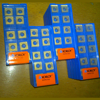 Good quality PVD/CVD carbide insert in original plastic box