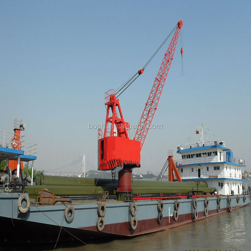 Marine Portal Crane in stock Rail-mounted Crane 50T for Dock and Shipyard