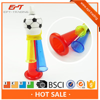 Plastic toy musical promotion trumpet toys for kids