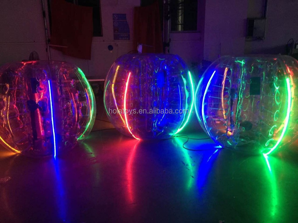 Hola LED bumper ball/bubble ball/human bubble ball for sale