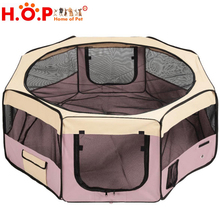 New Arrivel Customized Folding Bag Expandable Plastic Pet Fence Convenient Carry Bag For Travel Globall Pet Products Dog Carrier