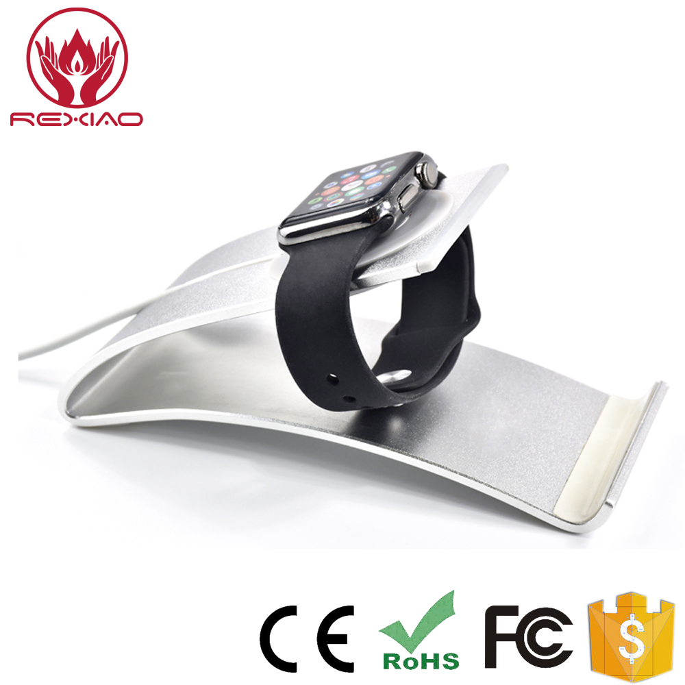Aluminum Mobile Phone Holders for Apple Watch Charging Dock Stand