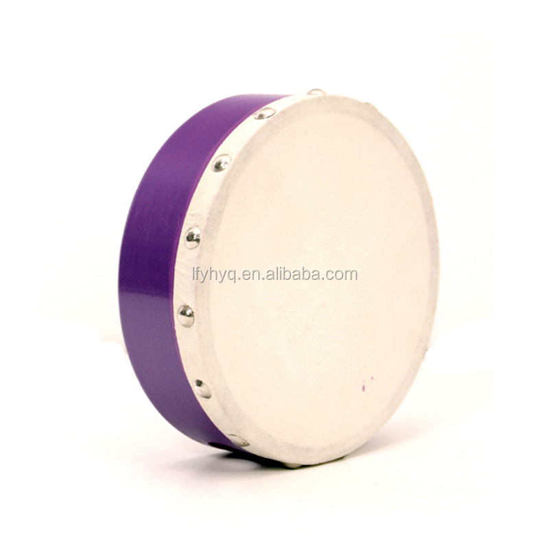 percussion musical instrument hand drum with goat skin drum heads