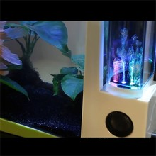 USB mini plastic aquarium fish tank