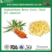 health supplement Seabuckthorn Berry fruit /Seed Oil capsules Seabuckthorn Berry Extract 5:1, 10:1, 20:1