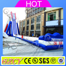 Inflatable beach water slide / inflatable largest beach slide / inflatable jumbo hippo slide