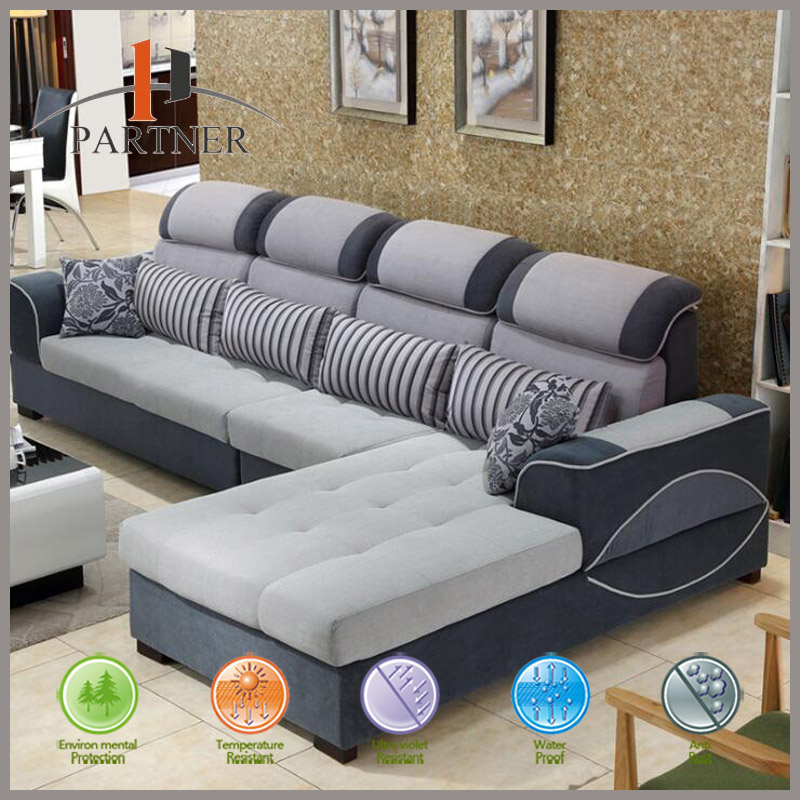 New Designs and Low Prices 5 Seater Corner Used Sectional Sofas Living Room Sofa Furniture Set
