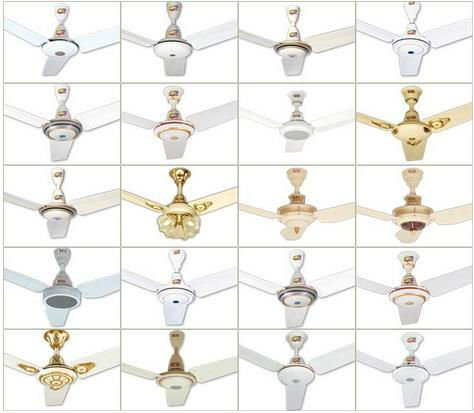 Ceiling fan, Pedestal fan, Exhaust fan, Bracket fan etc.