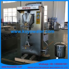 China KOYO Full Automatic Vertical Pouch Water Packing Machine with Gravity Filler