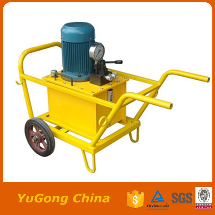 Small stone splitter portable stone splitter quarry stone cutting machine for sale