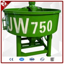 Jw500 Mobile Electric Pan Type Concrete Mixture Mixer For Sale 500 Liter