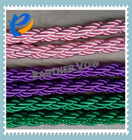 color twisted rope in different size