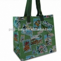 2016 new design printed promotional gift tote bag