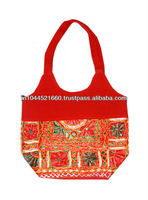 Elegant Ethnic cotton Ladies Hand Bag
