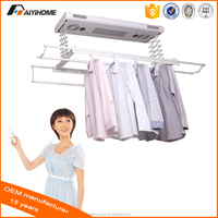 Electrical clothes airer/Electrical clothes hanger/Adjustable height clothes drying rack, Aluminum, automatic,remote control