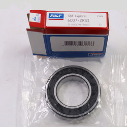 SKF 6007 bearing 35x62x14mm 6007 6007-2z 6007-2rs deep groove ball bearing with SKF price list