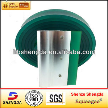50*7mm*4000mm green color screen rubber squeegee with high UV resistance