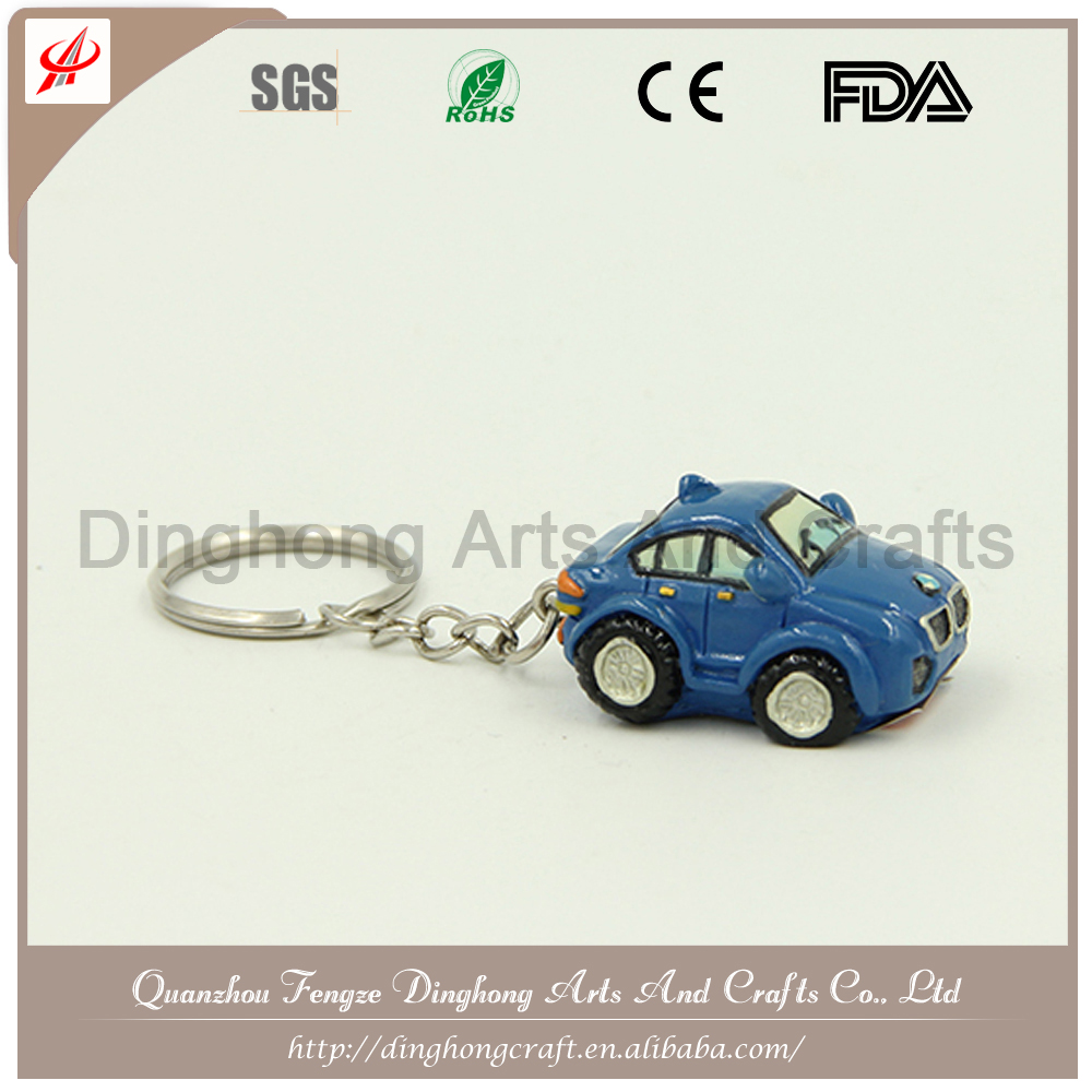 2015 New Creative Key Chain Model Car Blank Key Chain