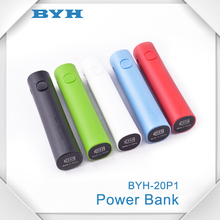 slim portable round power bank with flash light,Mobile Battery Power Bank